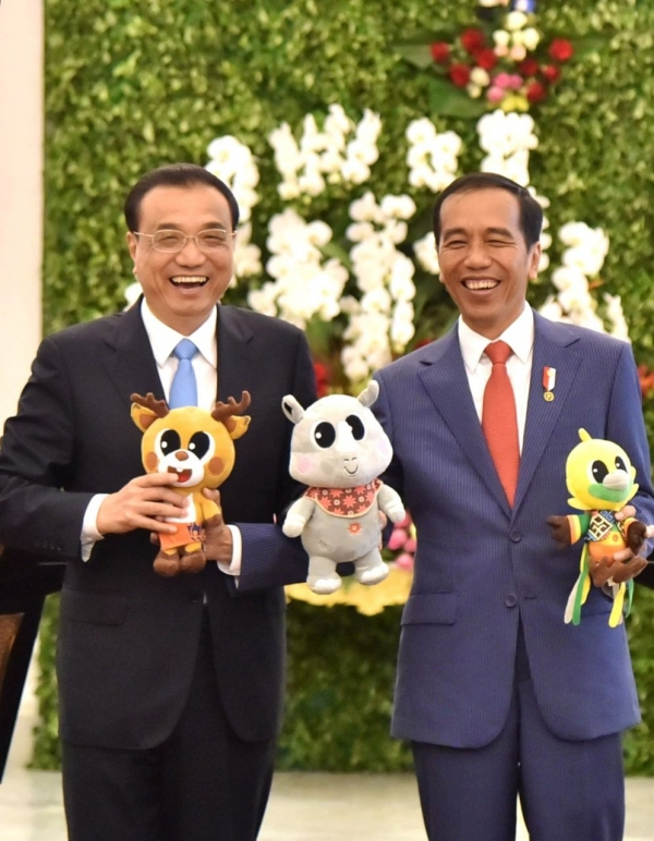 Indonesia-Tiongkok Promosikan Asian Games