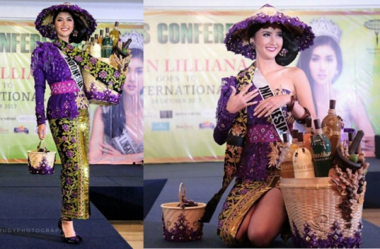 Mbok Jamu Antar Kevin Jadi  Miss International 2017